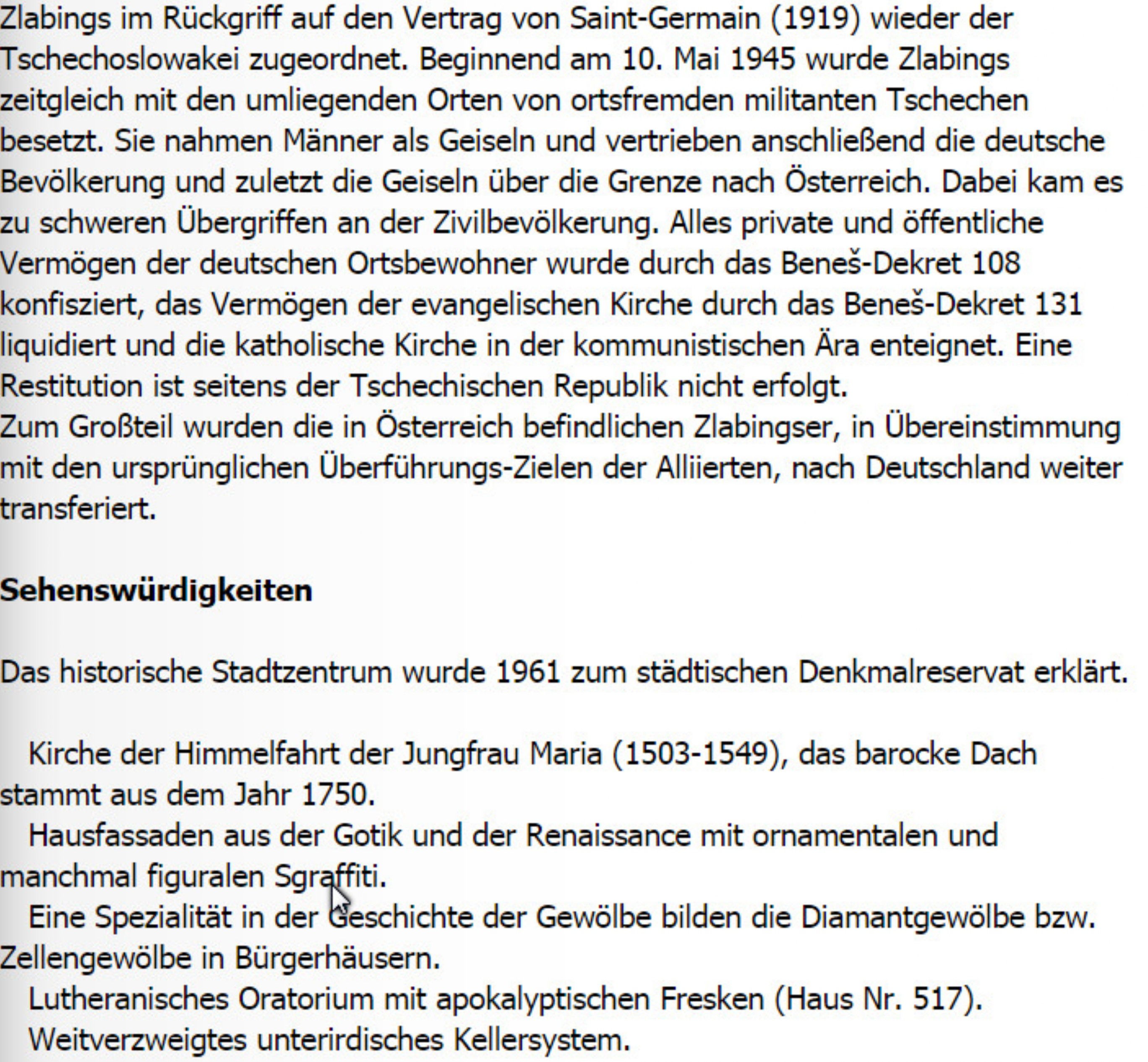zlabings - homepage der sudetendeutschen in bayreuth und umgebung, Einladungen